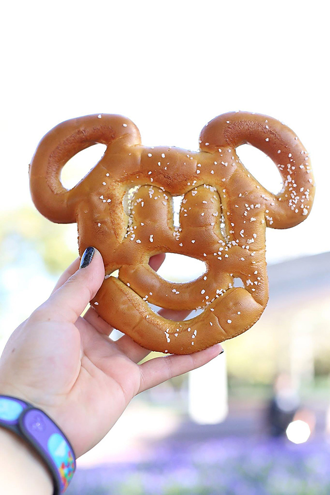 Disney World Mickey Pretzel copy