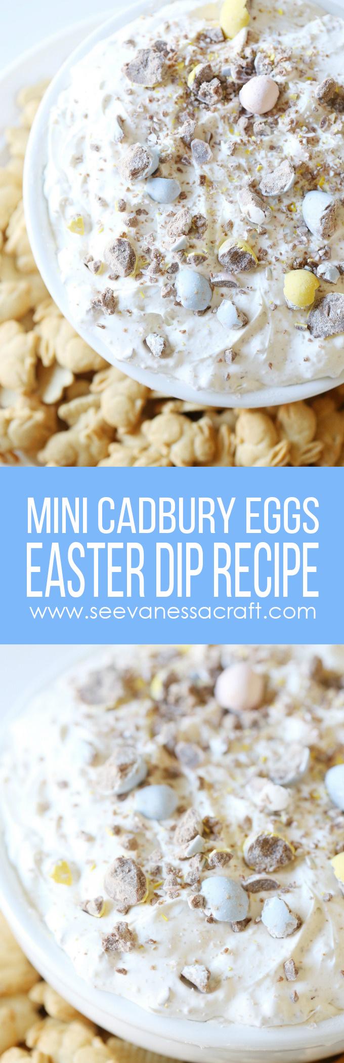 Easy Easter No Bake Cadbury Mini Eggs Dip Recipe