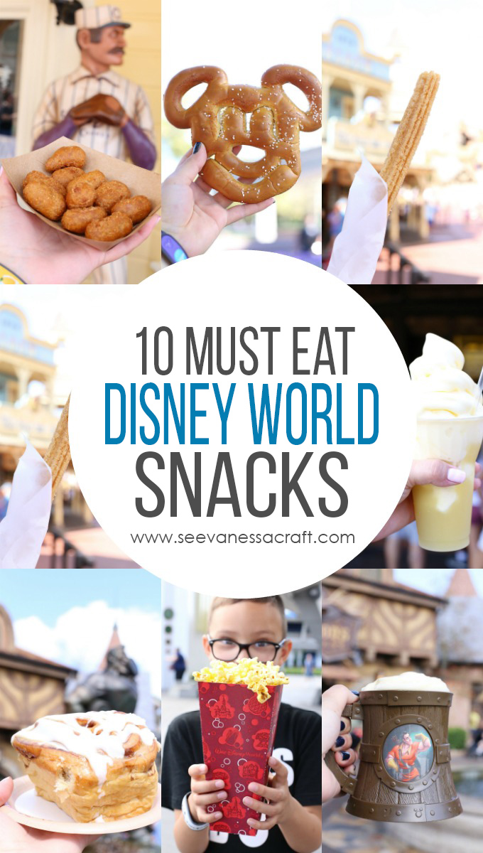 Must Eat Snacks at Disney World Magic Kingdom copy