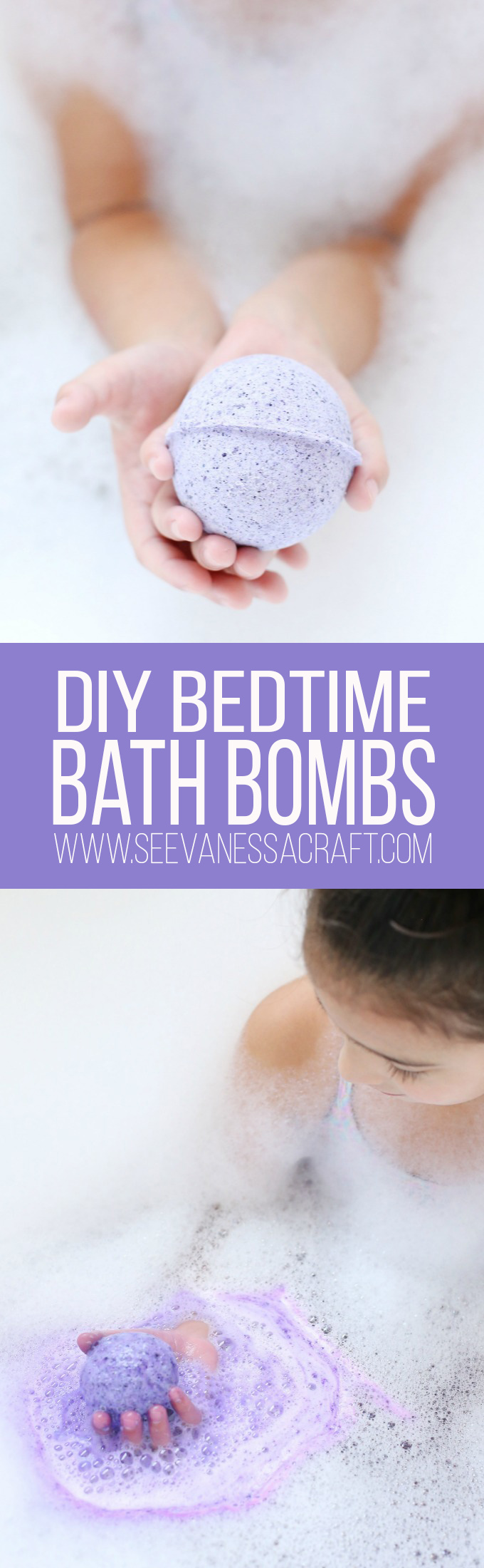 Bedtime Lavendar Bath Bombs Tutorial