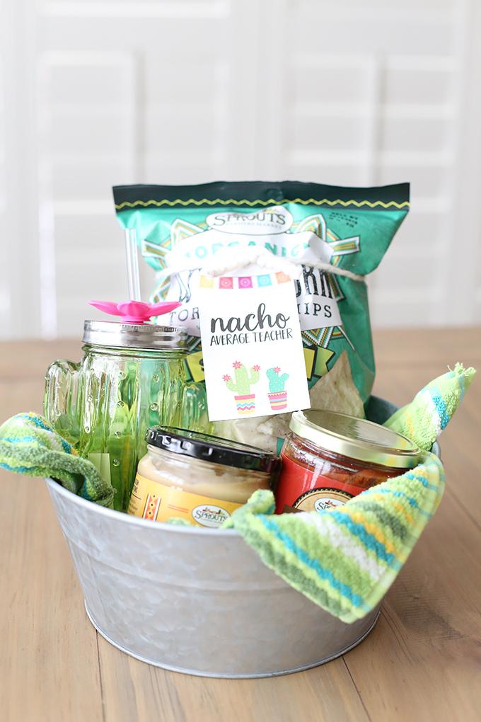 Craft nacho average teacher gift basket see vanessa craft solutioingenieria Images