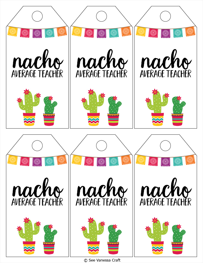 Nacho Average Teacher copy