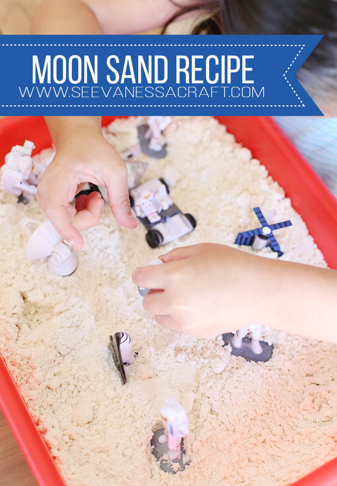 DIY Easy Moon Sand Recipe for Kids