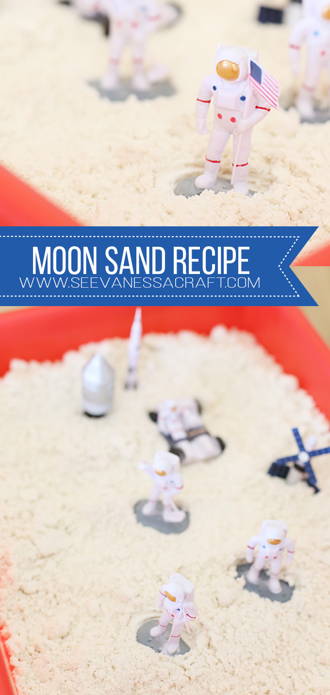 Easy 2 Ingredient Moon Sand Cloud Dough Recipe for Kids