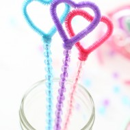 Craft: Nella the Princess Knight Pipe Cleaner Bubble Wands