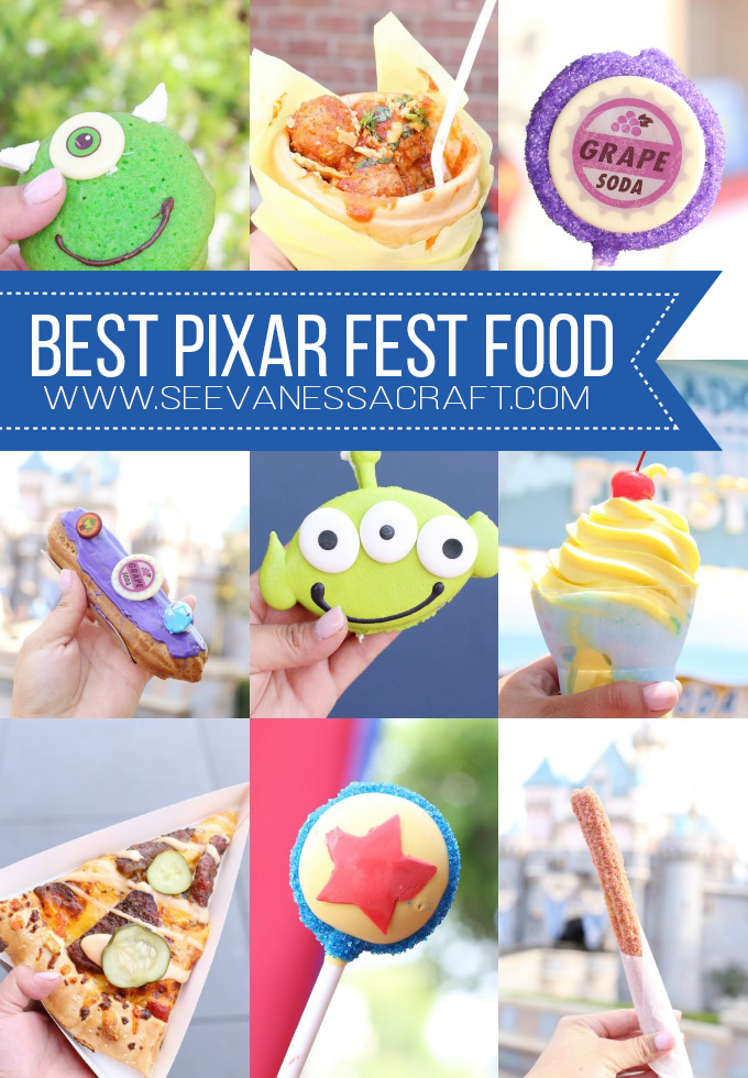 Snacks and Food at Pixar Fest Disneyland