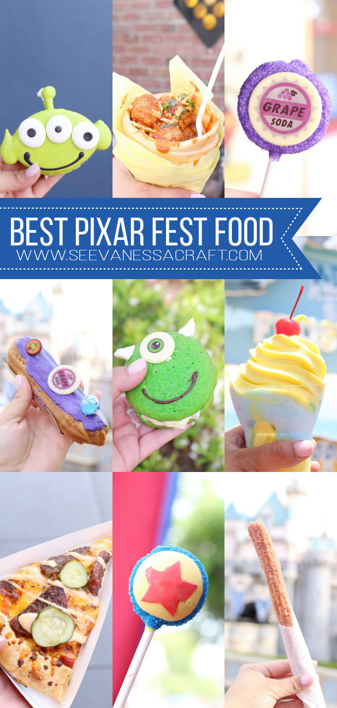 The Best Pixar Fest Food and Snacks at Disneyland