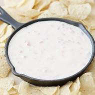 Recipe: 3 Ingredient Nacho Cheese Dip and Giveaway