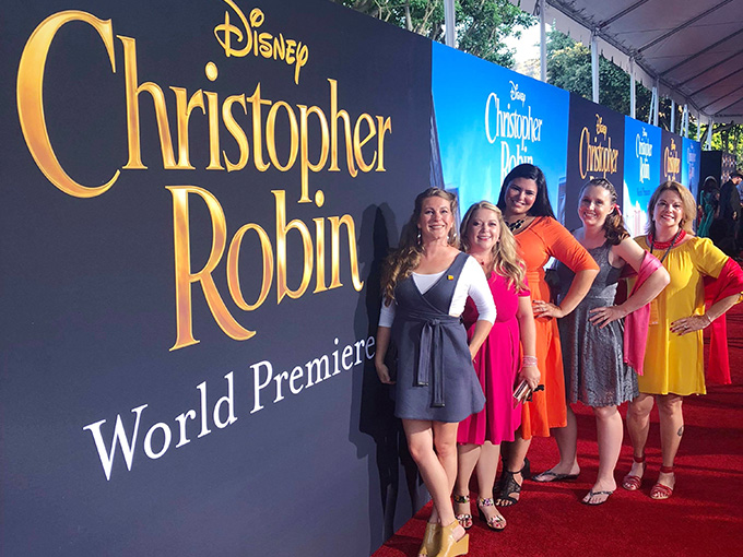 Christopher Robin Red Carpet 1