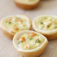 Lunchbox Muffin Tin Chicken Pot Pie Recipe