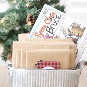 Christmas: Book Advent Calendar and Printable Tags