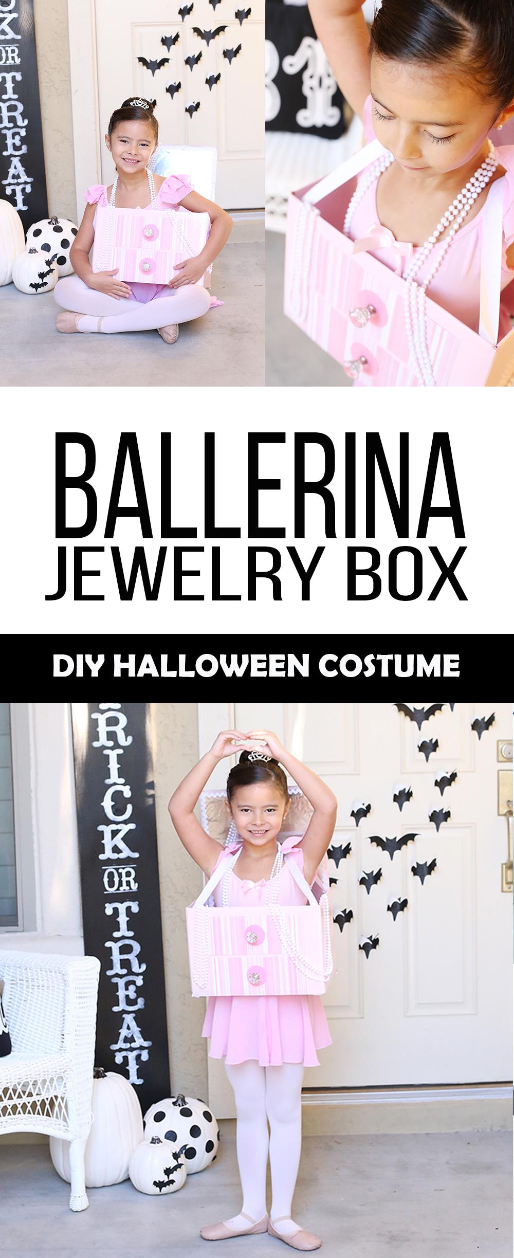 Halloween Diy Ballerina Jewelry Box Costume See Vanessa Craft