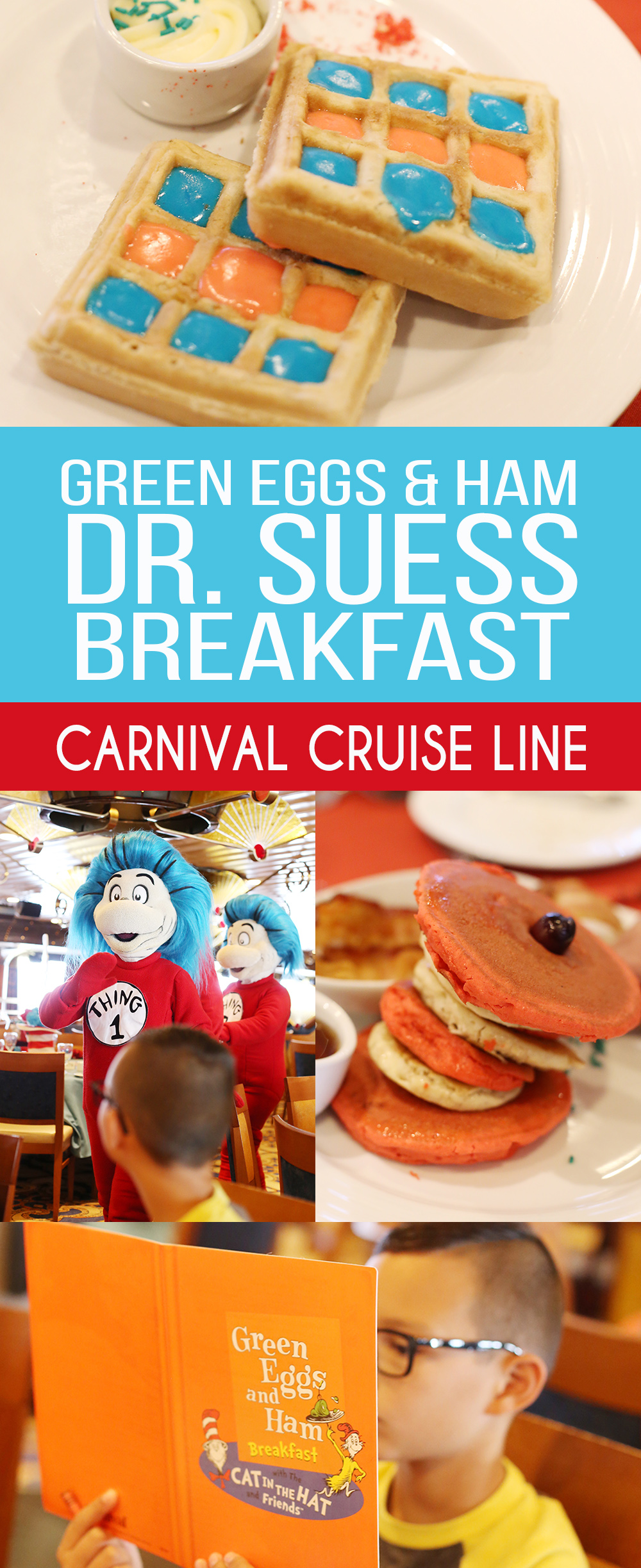 Travel Carnival Dr Seuss Green Eggs And Ham Breakfast