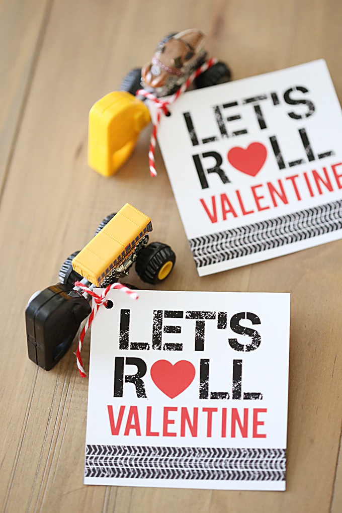 Valentine S Day Monster Jam Car Printable Valentine For Kids See