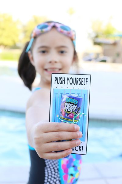 Printable: Swim Team Gift Idea Inspired by Mo Willems