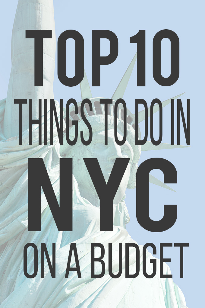 Top 10 Things to Do in NYC on a Budget - See Vanessa Craft