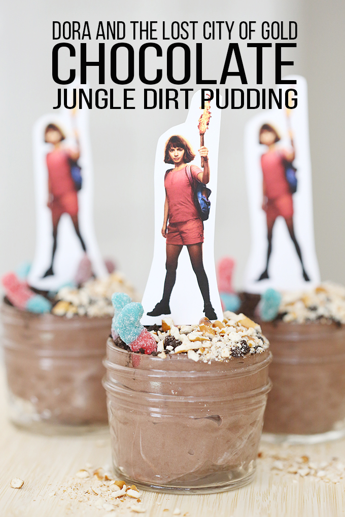 Jungle Dirt Pudding Inspired by Dora and the Lost City of