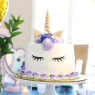 At Home Unicorn Spa Birthday Party