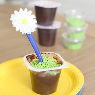Girl Scouts Daisy Pudding Snack Idea