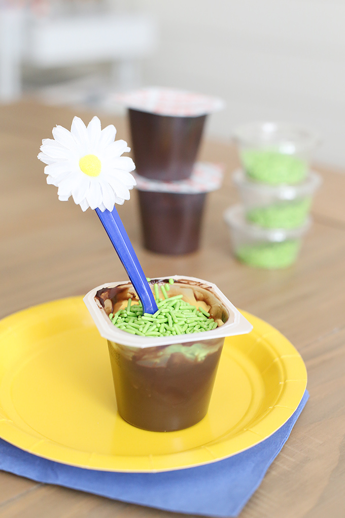 Girl Scout Daisy Pudding Snack Idea