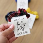 Hair Scrunchie Christmas Gift Idea