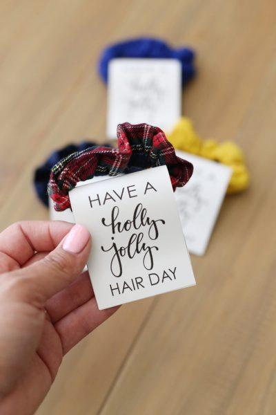 Hair Scrunchie Christmas Gift Idea
