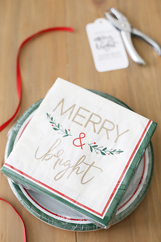 Holiday Gift of Dishes with Free Printable Tags