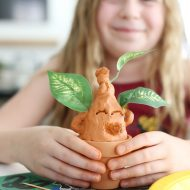 DIY Mandrake Harry Potter Craft
