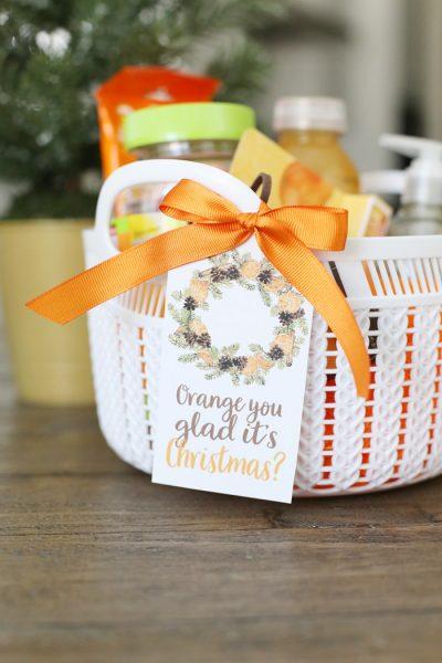 Orange Themed Holiday Gift Idea