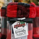 Christmas Blanket Gift Idea with Printable Tags