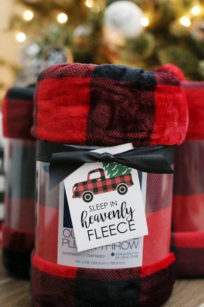 Christmas Blanket Gift Idea