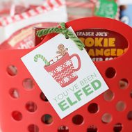You've Been Elfed Christmas Printables