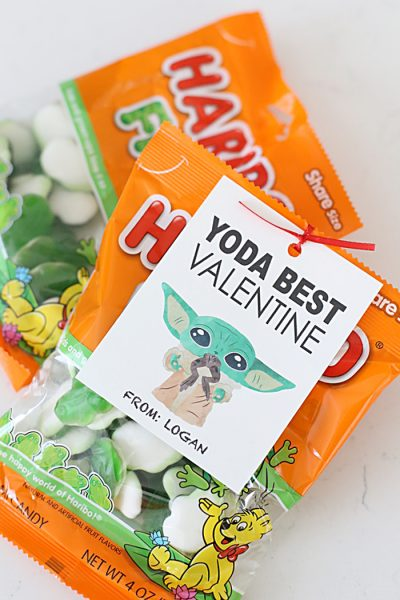 Free Printable Yoda Best Valentine Tags